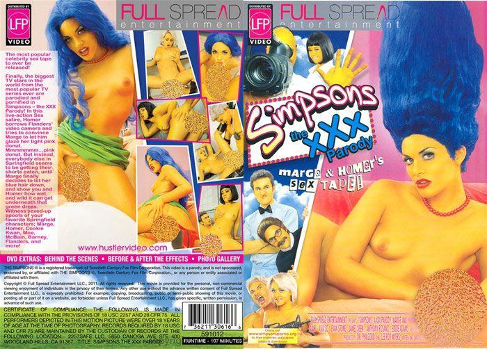 Simpson XXX Parody DVD